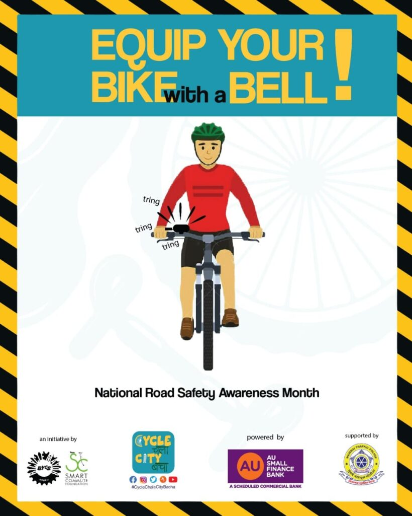 EQUIP YOUR BIKE WITH A BELL